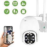 Aottom 4MP überwachungskamera Aussen, WLAN IP Kamera Outdoor, PTZ Dome WiFi Kamera,...