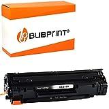 Bubprint Kompatibel Toner als Ersatz für HP CE278A 78A für LaserJet Pro M1536DNF M1537DNF M1538DNF M1539DNF MFP P1566 P1600 P1606DN P1607DN P1608DN P1609DN Schwarz