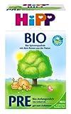 HiPP Pre Bio, Anfangsmilch von Geburt an, 4er Pack (4 x 600 g) - Bio