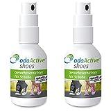 odo Active - Schuhgeruch-Vernichter – Dauerhafter Geruchsentferner – mikrobiologisch – Frische Schuhe & Gesunde Füße – mehrfach ausgezeichnet – Schuh-Deo Spray (2)
