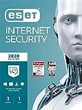 ESET Internet Security 2020 | 3 Geräte | 1 Jahr | Windows (10, 8, 7 und Vista), macOS, Linux und Android | Download