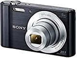 Sony DSC-W810 Digitalkamera (20,1 Megapixel, 6x optischer Zoom (12x digital), 6,8 cm (2,7 Zoll)...
