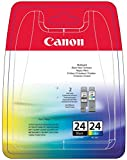 Canon BCI-24 Tintenpatrone Multipack (mehrfarbig, schwarz)