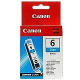 Canon 4706A002–Tintenpatrone BCI-6–Cyan