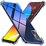 Peakally Crystal Clear Kompatibel mit HTC Desire 21 Pro 5G Hülle, Soft Silikon Dünn Transparent...