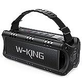 30W Bluetooth Lautsprecher, W-KING Tragbarer Musikbox, 5000mAh Batterie, 24-Stunden Akkulaufzeit,...