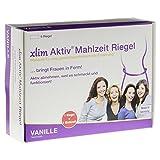 XLIM Aktiv Mahlzeit Riegel Vanille 6X75 g