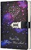 Lock Journal Zahlenschloss Schreiben Reisetagebuch A7 Mini Notizbuch
