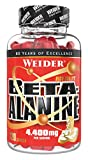 Weider Beta-Alanin Caps 4.400 mg, highly-dosed amino acid, 120 capsules for fitness & bodybuilding