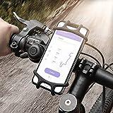 Fahrrad Handyhalterung Motorrad Handy Fahrrad Handyhalter, Universal Motorrad Handyhalterung Mit, für 4'-6,3' Zoll Smartphone, iPhone, Samsung, Galaxy, Edge, Nexus, Nokia, LG, Fahrrad Motorrad Lenker