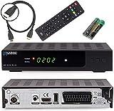 Anadol HD 202c Plus PVR Aufnahmefunktion-Timeshift digitaler Full-HD 1080p Kabel-Receiver für...