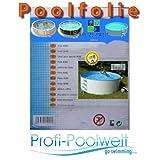 Pool-Innenfolie für ovale Pools 540-550 x 360 x 132 cm Höhe