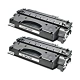 2 Logic-Seek XXL Toner kompatibel für Canon Cartridge 708 I-Sensys LBP 3300 3360 Lasershot LBP 3300 3360-0266B002 - Schwarz je 3000 Seiten