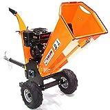 Benzin Häcksler Schredder 55754 Gartenhäcksler 120mm Holzhäcksler Motorhäcksler AWZ