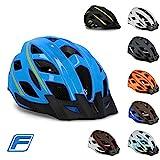 FISCHER Unisex– Erwachsene Fahrradhelm, Montis blau, S/M 55-59