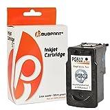Bubprint Druckerpatrone kompatibel für Canon PG-512 XL PG 512 XL für Pixma IP2700 MP230 MP240 MP250 MP270 MP280 MP282 MP495 MP499 MX320 MX360 Schwarz
