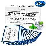 White Stripes 56pcs Zahnaufhellung Bleaching strips Set für Weiße Zähne mit No Slip Technology Teeth Whitening Zahnpflege, von BESTOPE