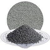 Schicker Mineral Diabas Splitt grau 25 kg in den Größen 1-3 mm, 2-5 mm, 5-8 mm, 22-32 mm, 32-56 mm, ideal zur Gartengestaltung, hellgrauer Naturstein Splitt (Diabas Splitt, 1-3 mm)
