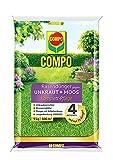 COMPO FLORANID Rasendünger gegen Unkraut+ Moos Komplett-Pflege, 3 Monate Langzeitwirkung, Feingranulat, 9 kg, 300m²