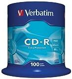 Verbatim CD-R Extra Protection 700 MB - 52-fache Brenngeschwindigkeit - Extraschutz - hohe...