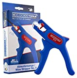 WEICON TOOLS Abisolierzange No. 5 / Automatische Abisolierzange für alle gängigen flexiblen und massiven Leiter von 0,2 - 6,0 mm² / integrierter Seitenschneider bis 2 mm