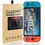 Schutzfolie für Nintendo Switch, 2 Stück Glass Displayschutzfolie Glas Folie Panzerfolie Screen...