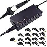 90W Universal Laptop Ladegerät Netzteil, 15V-20V Netzteil mit 16 Anschlüssen für Notebook...