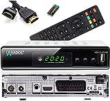 [Test GUT *] Anadol ADX 111c Full HD Kabel Receiver, PVR Aufnahmefunktion, Timeshift, HDTV Receiver für alle Kabelanbieter geeignet, HDMI SCART DVB-C, C/2, mit automatisierter Senderinstallation