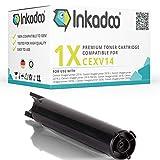 Inkadoo Toner kompatibel zu Canon imageRUNNER 2300 Series, CEXV14, CEXV14BK 0384B002 0384B006 0384B006AA 384B006 384B006AA, Premium Drucker-Kartusche Alternativ, Schwarz, 8300 Seiten