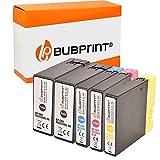 Bubprint Kompatibel Druckerpatronen als Ersatz für Canon PGI-2500XL PGI-2500 XL für Maxify iB4050 iB4150 MB5000 MB5050 MB5100 MB5150 MB5155 MB5300 MB5350 MB5400 MB5450 MB5455 BK/C/M/Y 5er-Pack