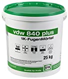 VDW 840 Plus 1K Fugenmörtel, 25 kg (steingrau)
