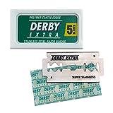 Derby Extra - 5 Rasierklingen für traditionelle Rasierhobel