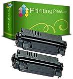 Printing Pleasure 2er Set Premium Toner Schwarz kompatibel für HP Laserjet 5000 5000DN 5000N 5100 Canon LBP-840 LBP-850 LBP-870 LBP-910 LBP-1610 LBP-1620 LBP-1810 imageRUNNER 2200 LP-3000 LP-3010