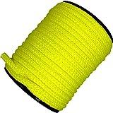 Handelsminister.com 50m Kunststoffseil 10mm 800kg grün beige blau gelb schwimmfähig Polyprolylen PP-Seil Seil Tau salzwasserbeständig, Farbe:gelb