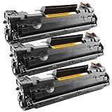 Tito-Express PlatinumSerie 3X Toner-Kartusche XXL Schwarz für Canon CRG-728 EP-728 I-Sensys MF4410 Fax L150 L170 L410