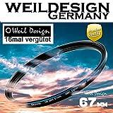 Filter UV slim 67mm XMC Digital Weil Design Germany - SYOOP - * Objektivschutz * blockt...