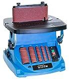 Güde 38353 GSBSM 450 Spindel-Bandschleifmaschine, Blau