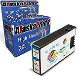 Alaskaprint 1 kompatible Druckerpatrone als Ersatz für Canon PGI-1500 XL Cyan für Canon Maxify MB 2300 Series