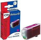 Pelikan C39 Druckerpatrone (ersetzt Canon CLI-521M) magenta