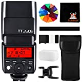 GODOX TT350S Speedlite Blitzgerät 2,4G HSS 1/8000s GN36 TTL Blitz Kamerablitz für Sony DSLR...