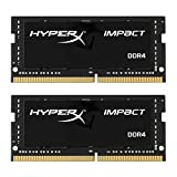 HyperX Impact DDR4 HX426S15IB2K2/32 Arbeitsspeicher 2666MHz CL15 SODIMM 32GB Kit (2x16GB)