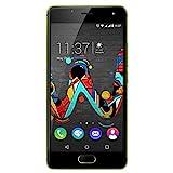 Wiko U Feel Smartphone (12,7 cm (5 Zoll) HD IPS-Display, Fingerabdruck-Sensor, 16 GB interner...