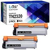 LxTek Kompatibel Tonerkartusche als Ersatz für Brother TN-2320 TN2320 für MFC-L2700DW MFC-L2700DN MFC-L2720DW MFC-L2740DW DCP-L2500D DCP-L2520DW DCP-L2540DN DCP-L2560DW HL-L2300D (Schwarz, 2er-Pack)