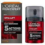 L'Oréal Men Vita Lift 5 Anti Age Total, Feuchtigkeitspflege Männer, Anti Aging Creme, 1er Pack (1 x 50 ml)