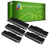 Printing Pleasure 5 Toner kompatibel für HP Laserjet 3100 3100XI 3150 3150SE 5L Xtra 6L 6LSE Canon LBP-440 LBP-445 LBP-460 LBP-465 LBP-660 LBP-210 LBP-220 LBP-310 LBP-320 - Schwarz, hohe Kapazität