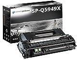 Schneider Printware Toner 7.500 Seiten kompatibel zu Q5949X für HP Laserjet 1320 3390 3392 Canon Lasershot LBP3300 LBP3360