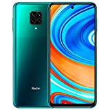 Xiaomi Redmi Note 9 Pro Smartphone - 6.67' DotDisplay 6GB 64GB 64MP AI Quad Camera 5020mAh (typ)* NFC Grün [Globale Version]
