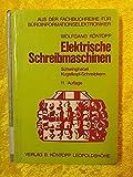 Elektrische Schreibmaschinen. Schwinghebel, Kugelkopf-Schreibkern