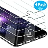 Beikell [4 Stück] Displayschutzfolie für iPhone 8/ iPhone 7, iPhone 6S und iPhone 6, Gehärtetes...
