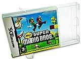 10 x Klarsicht Schutzhüllen für Nintendo DS OVP 0,3mm Passgenau und Glasklar-PET-Reset Retro Game...